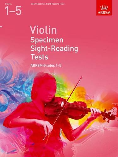 Violin Specimen Sight-Reading Tests, ABRSM Grades 1-5: from 2012 (ABRSM Sight-reading) de ABRSM