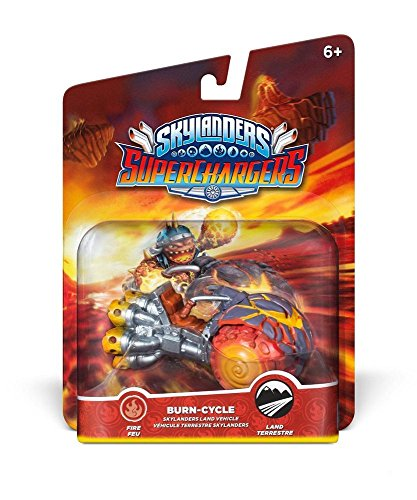 Skylanders SuperCharges - Figura Burn Cycle (Vehicle) de ACTIVISION