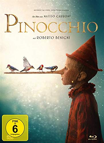 Pinocchio - 2-Disc Limited Collector's Edition im Mediabook (+ DVD) [Alemania] [Blu-ray] de AL!VE AG