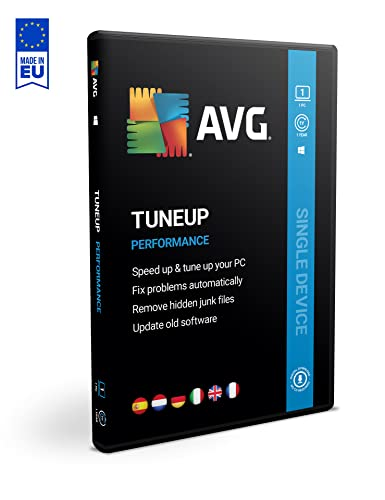 AVG PC TuneUp 2019 | 1 equipo | 1 año de AVG Technologies