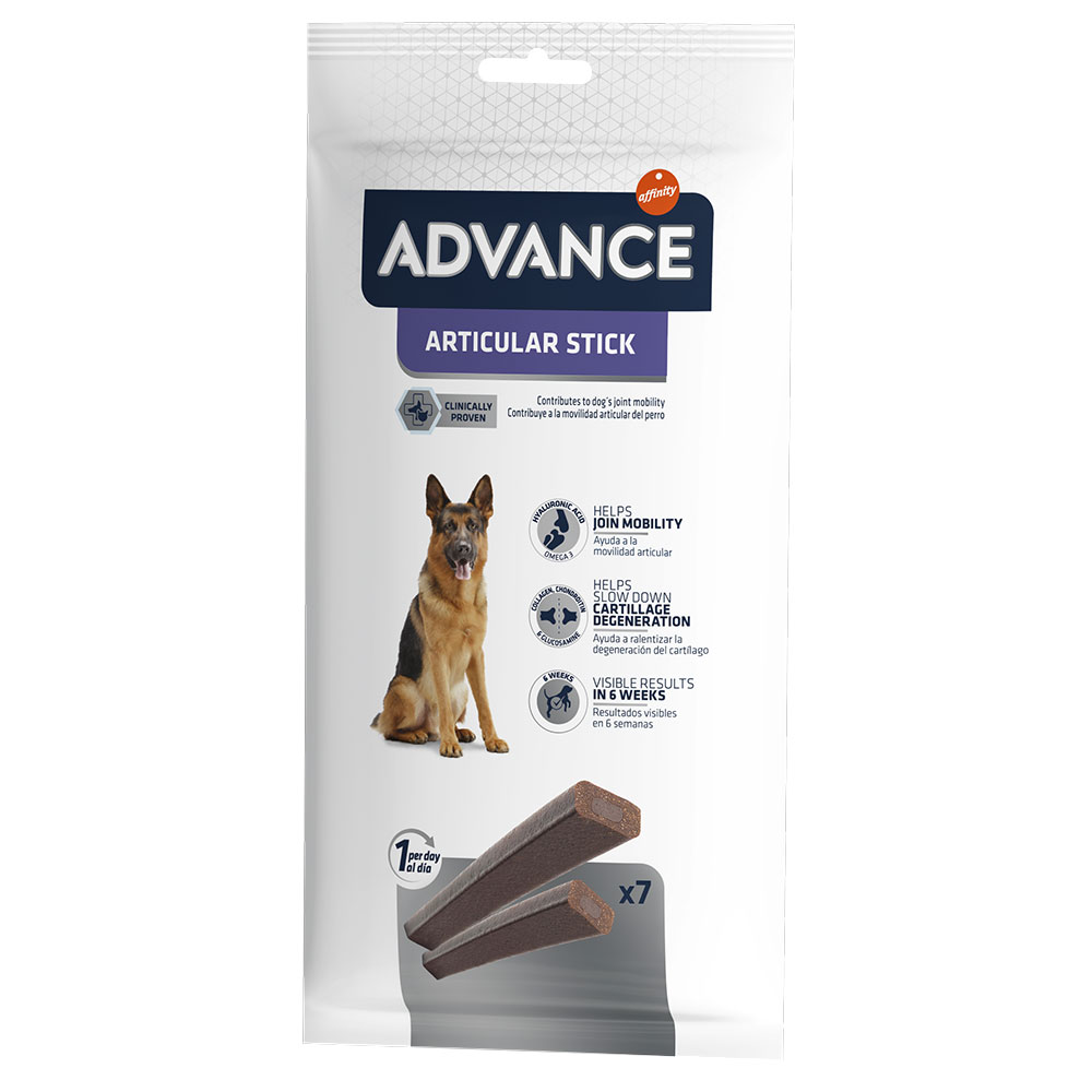 Advance Articular Stick snacks para perros - 155 g de Affinity Advance