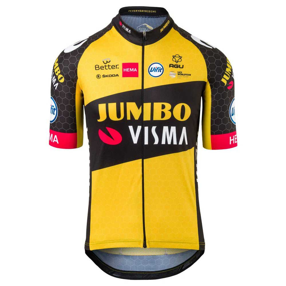 Agu Team Jumbo-visma 2021 Replica XXL Yellow de Agu