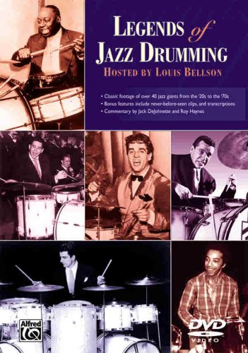 Various Artists - Legends of Jazz Drumming [Alemania] [DVD] de Alfred Music Publications