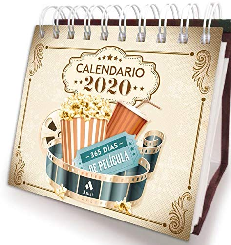 CALENDARIO DE CINE 2020 de Amat Editorial