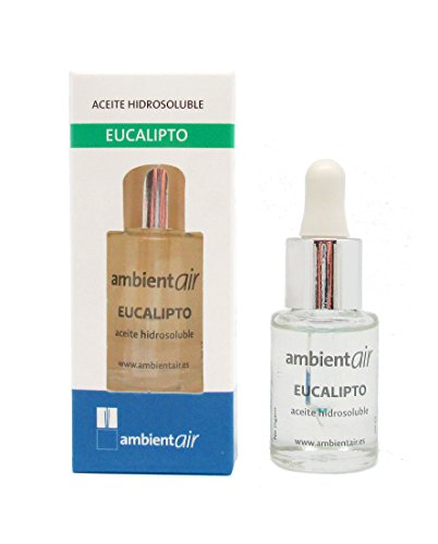 Ambientair HD015ECAA - Aceite hidrosoluble, aroma eucalipto, 15 ml de Ambientair