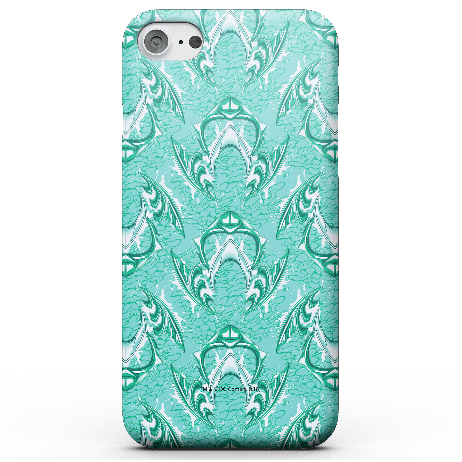 Funda Móvil DC Comics Aquaman Mera para iPhone y Android - iPhone 8 - Carcasa doble capa - Brillante de DC Comics