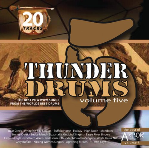 Vol.5-Thunder Drums de ARBOR