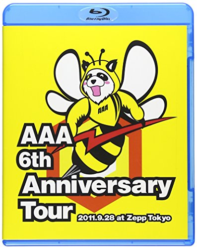 Aaa - Aaa 6Th Anniversary Tour 2011.9.28 At Zepp Tokyo [Edizione: Giappone] [Italia] [Blu-ray] de Avex Trax Japan