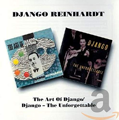 The Art Of Django/Django Unforgettable de B.G.O. Records