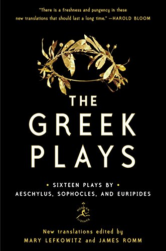 The Greek Plays: Sixteen Plays by Aeschylus, Sophocles, and Euripides (Modern Library Classics) de Modern Library