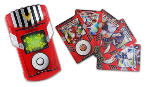 Digimon - Fusion Loader + 5 Cards de Bandai