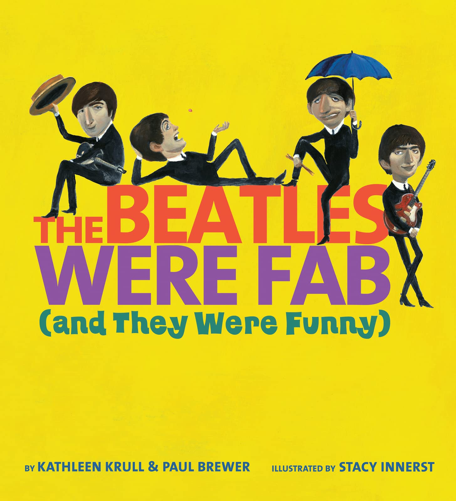The Beatles Were Fab (and They Were Funny) de HARCOURT BRACE & CO