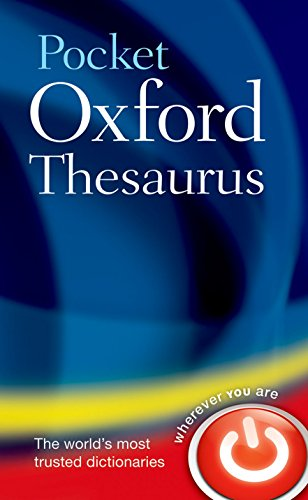 Pocket Oxford Thesaurus de Brand: Oxford University Press