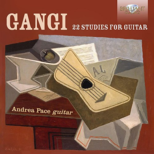 GANGI: 22 Studies for Guitar de Brilliant Classics