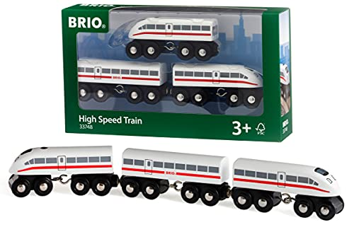 Brio High Speed Train Tren Juego Primera Edad,, 3 a&ntildeos (33748) de Brio