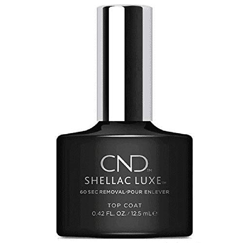 CND Shellac Luxe, Gel de manicura y pedicura (Top coat) - 1 unidad de CND Shellac Luxe