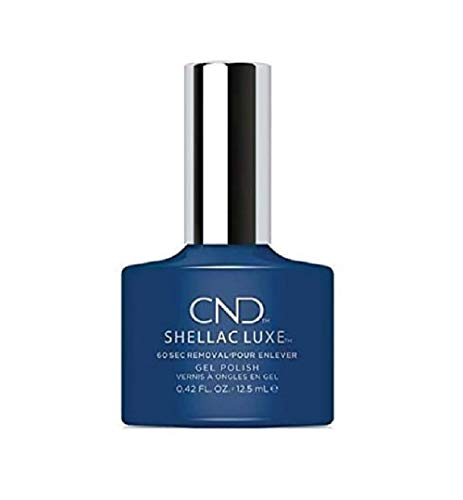 CND Shellac Luxe, Gel de manicura y pedicura (Winter nights) - 1 unidad de CND Shellac Luxe
