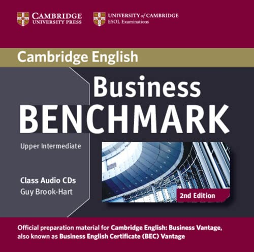 Business Benchmark Upper Intermediate Business Vantage Class Audio CDs (2) (Cambridge English) de Cambridge University Press