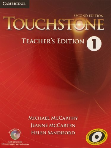 Touchstone Level 1 Teacher's Edition with Assessment Audio CD/CD-ROM de Cambridge University Press