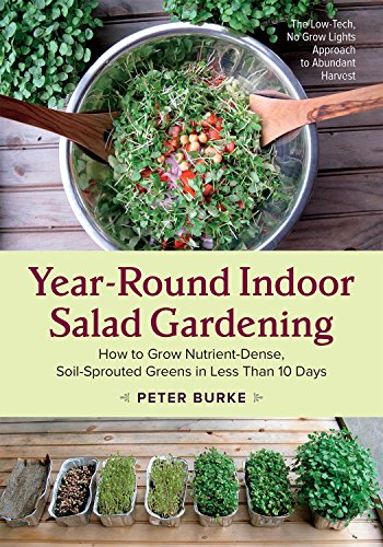 Year-Round Indoor Salad Gardening: How to Grow Nutrient-Dense, Soil-Sprouted Greens in Less Than 10 Days de Chelsea Green Publishing Co