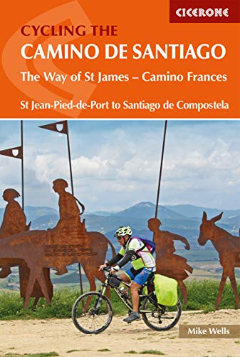The Way of St. James: A Cyclist´s Guide: The Way of St James - Camino Frances (Cicerone Cycling Guides) de Cicerone Press