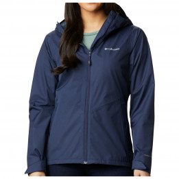 Columbia - Women`s Inner Limits II Jacket - Chaqueta impermeable size M - Regular, azul/negro de Columbia