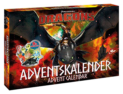 Craze 57323 – Calendario de Adviento DreamWorks Dragons de Craze