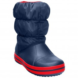 Crocs - Winter Puff Boot Kids - Botas invierno size C7, azul de Crocs