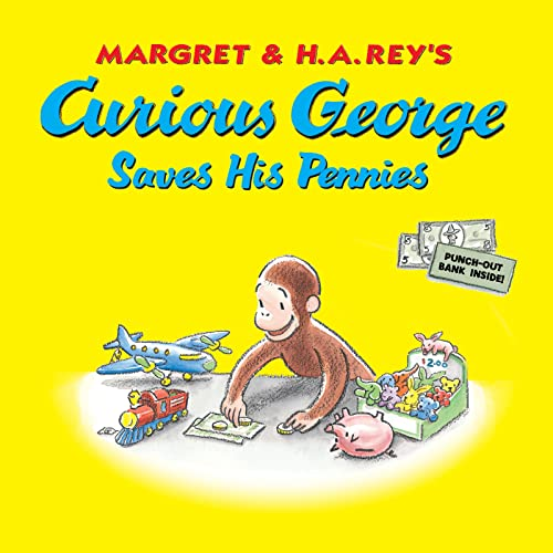 Curious George Saves His Pennies de HOUGHTON MIFFLIN