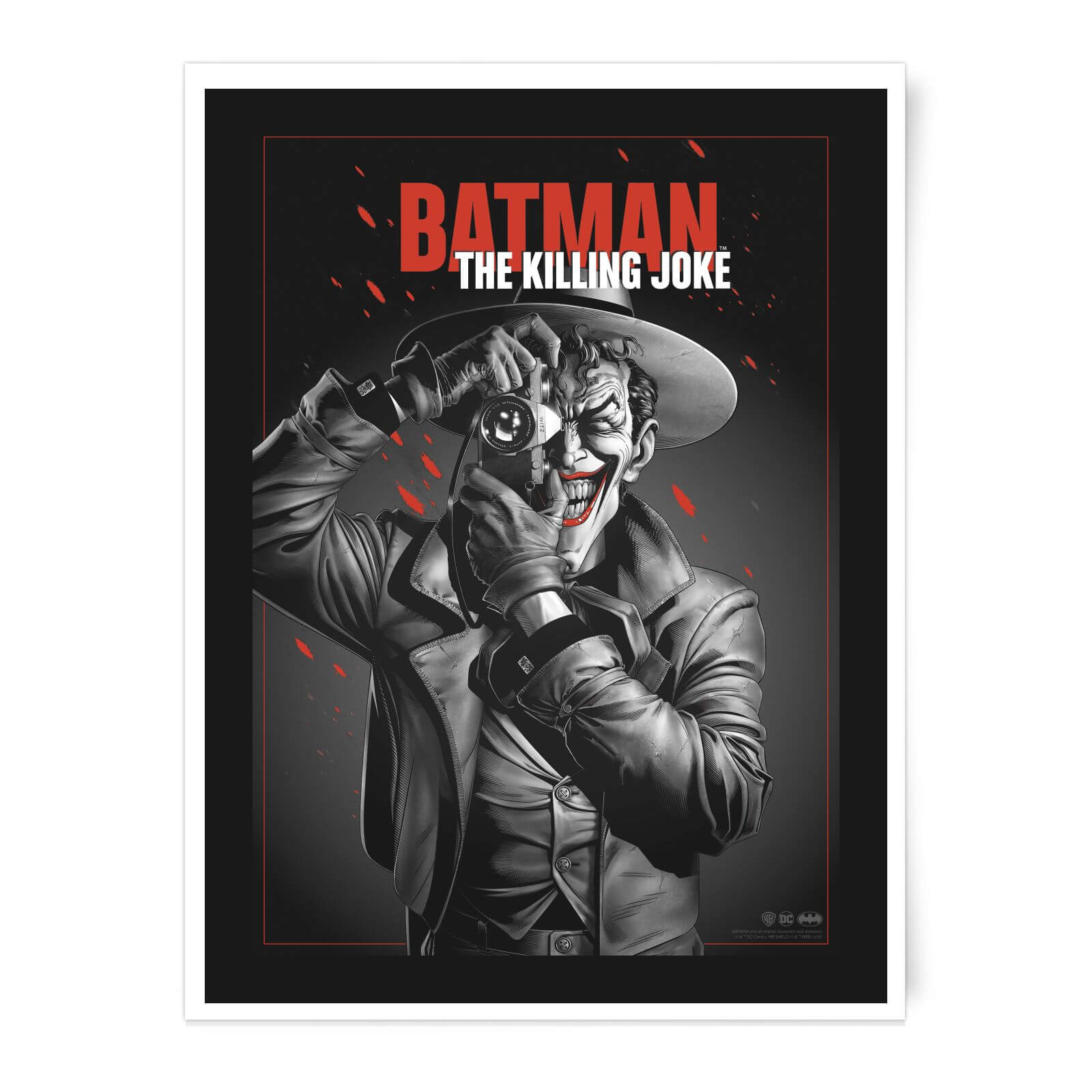 Póster Fine Art Giclée The Killing Joke - A3 de DC Comics