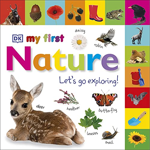My First Nature Let's Go Exploring (Tabbed Board Books) de DK Children