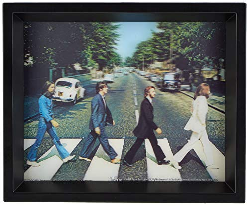 The Beatles - Póster lenticular en 3D, 25,4 x 20,3 cm, multicolor de Desconocido