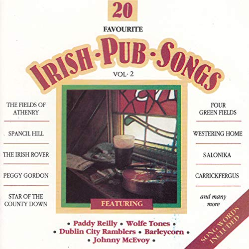 Irish Pub Songs Vol 2 Docd 2029 de Dolphin