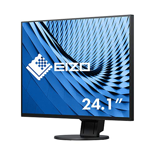 "Eizo FlexScan EV2456 - Monitor Profesional 24"" (Resolución 1920 x 1200 Panel IPS, Marco de 1 mm, Angulo visión 178°, 350 CD, 5 ms, LED), Negro de EIZO"
