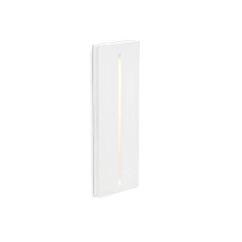 FARO BARCELONA 63282 - Plas Empotrable (Bombilla incluida) LED, 1W, Yeso, Color Blanco de FARO BARCELONA