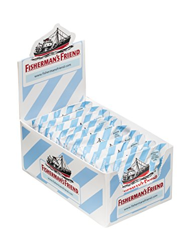 Fisherman's Friend Original, Caramelo Comprimido Sin Azúcar - 12 unidades de 25 gr. (Total 300 gr.) de Fisherman's Friend