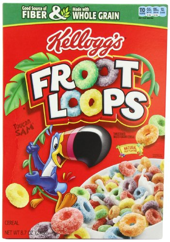 Froot Loops 246 g (Pack of 2) de Fruit Loops