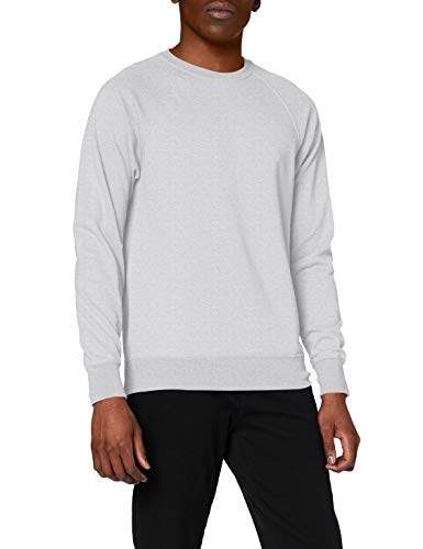 Fruit of the Loom Ss063m Sudadera, Gris (Heather Grey), Large para Hombre de Fruit of the Loom