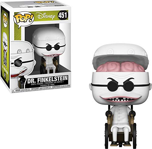 Pop! Disney The Nightmare Before Christmas - Figura de Vinilo Dr. Finkelstein de Funko