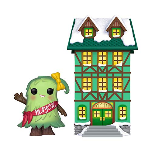 Funko Pop Holiday-Town Hall w/Mayor Patty Noble Figura Coleccionable, Multicolor (44424) de Funko
