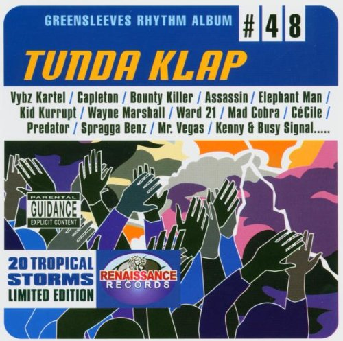 Tunda Klap. Rhythm Album 48 de GREENSLEEVES