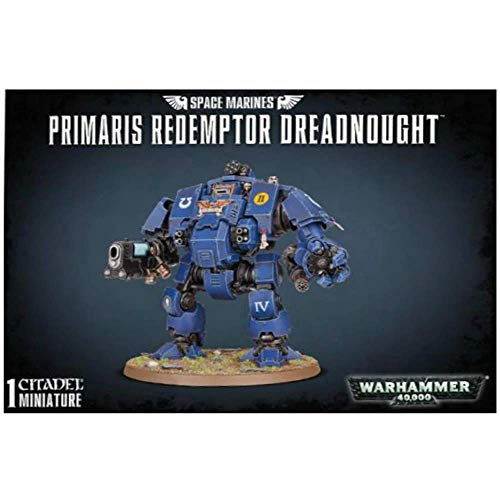 Games Workshop 99120101191 S/M Primaris - Kit de redimptor de plástico de Games Workshop
