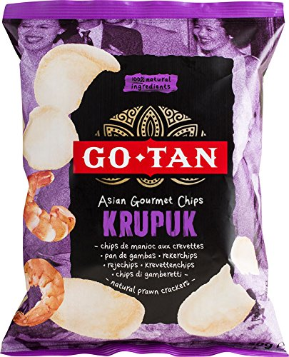 Go-Tan:Prawn Cracker Gourmet 50G - [pack de 10] de Go-tan