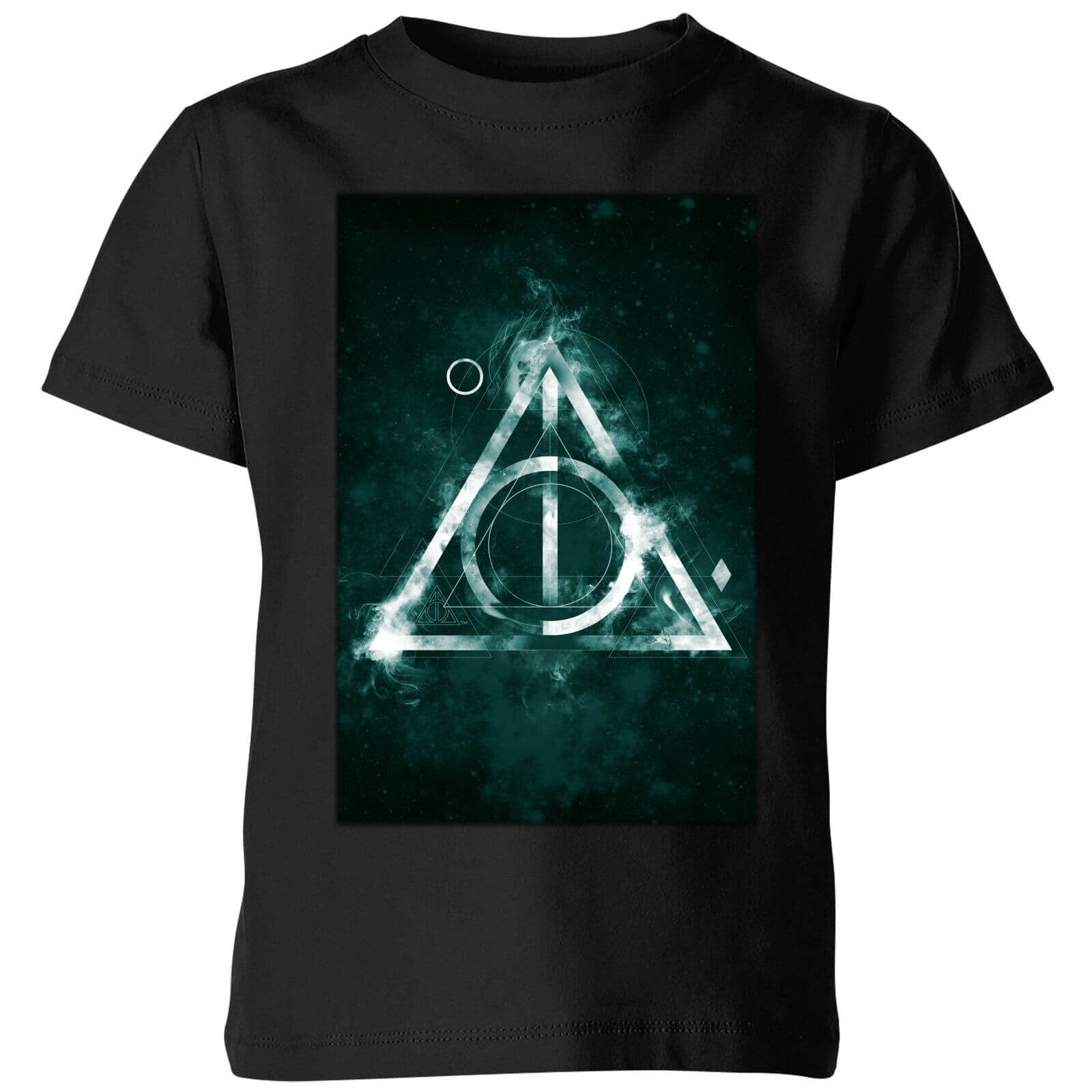 Harry Potter Hallows Painted Kids' T-Shirt - Black - 3-4 años - Negro de Harry Potter
