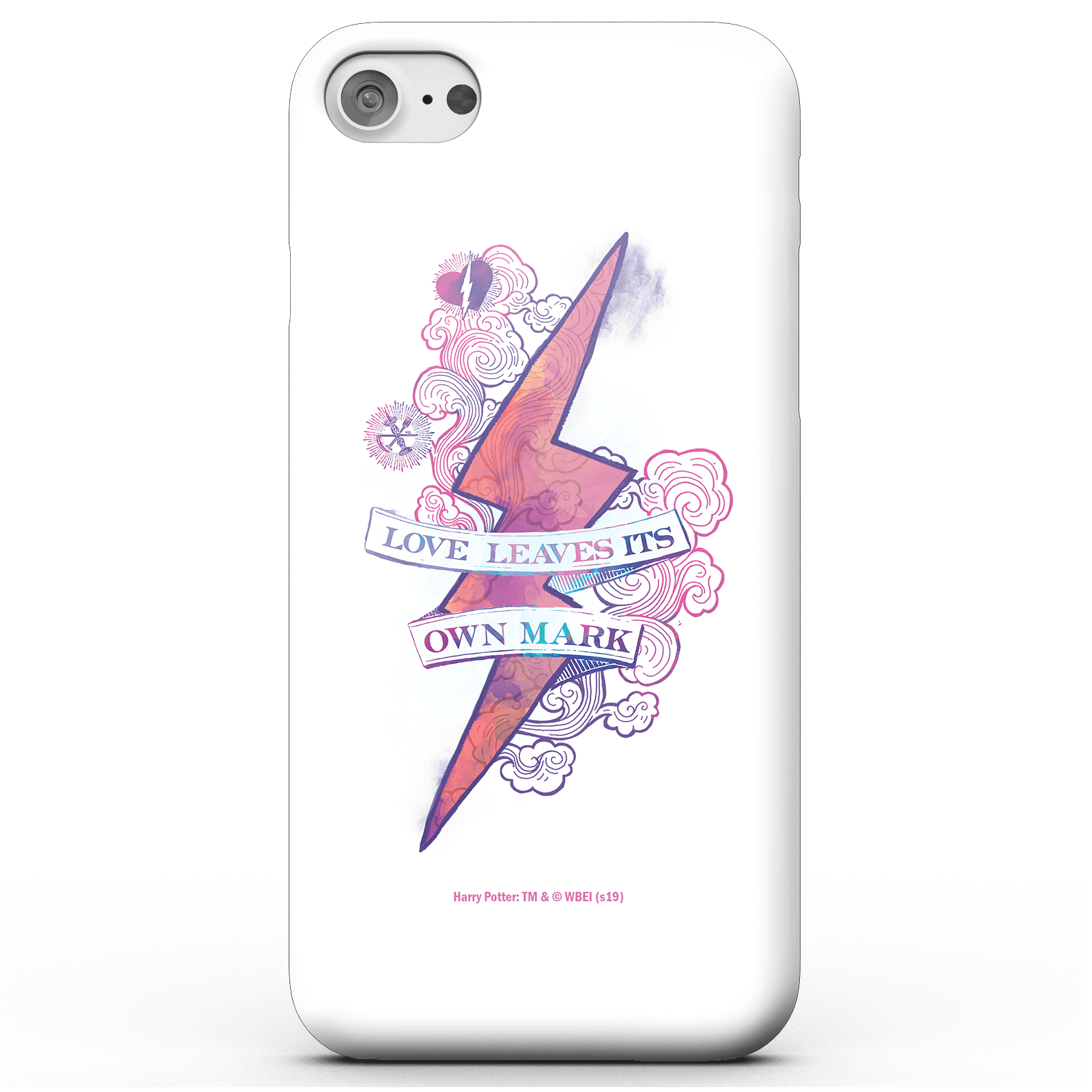 Funda Móvil Harry Potter Love Leaves Its Own Mark para iPhone y Android - Samsung S9 - Carcasa rígida - Mate de Harry Potter