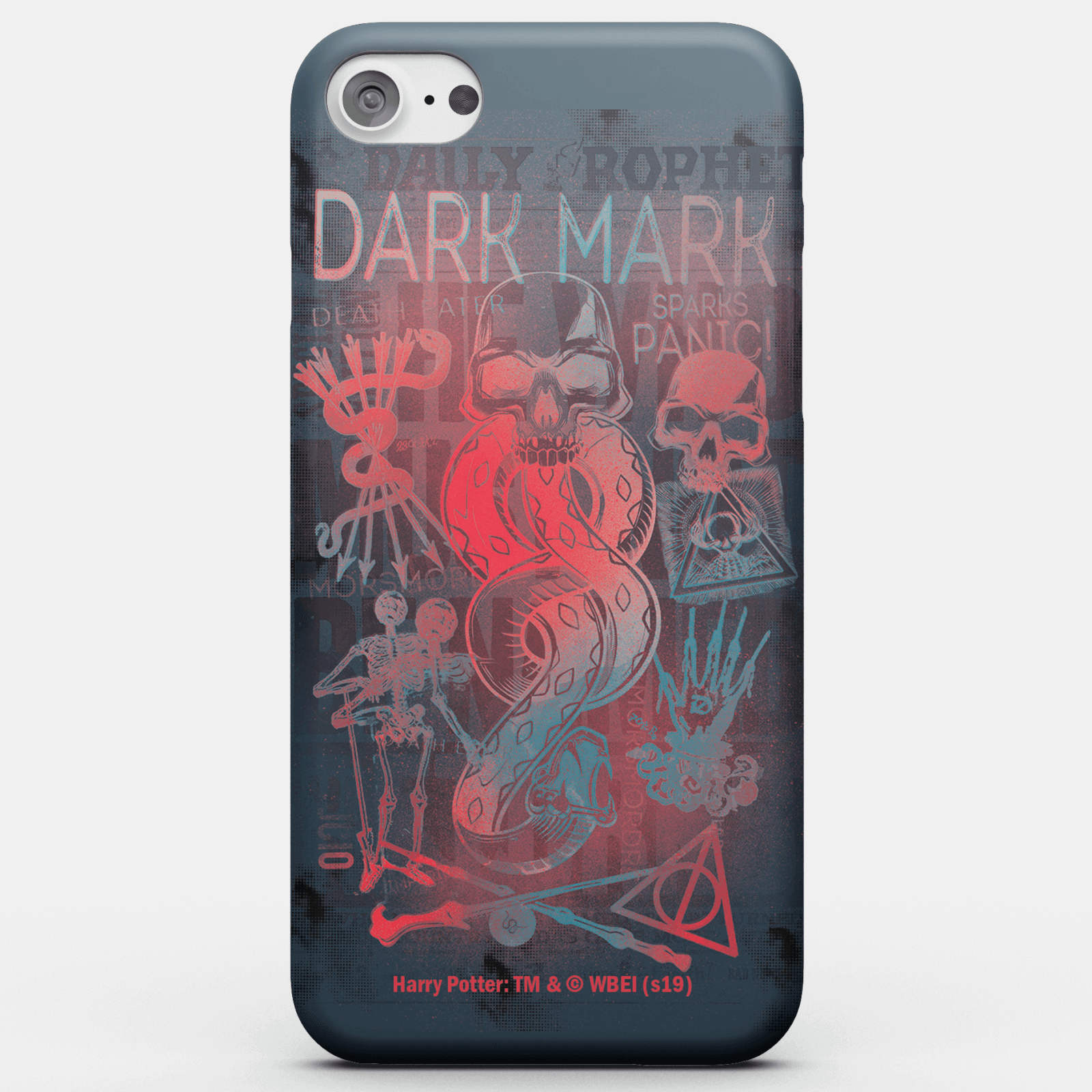 Funda Móvil Harry Potter Dark Mark para iPhone y Android - iPhone 7 Plus - Carcasa doble capa - Mate de Harry Potter