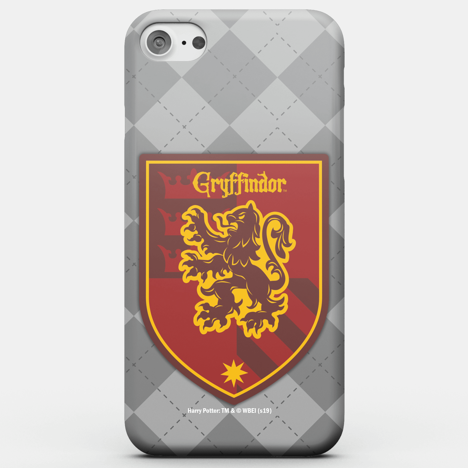 Harry Potter Phonecases Gryffindor Crest Phone Case for iPhone and Android - Samsung S7 - Carcasa rígida - Mate de Harry Potter