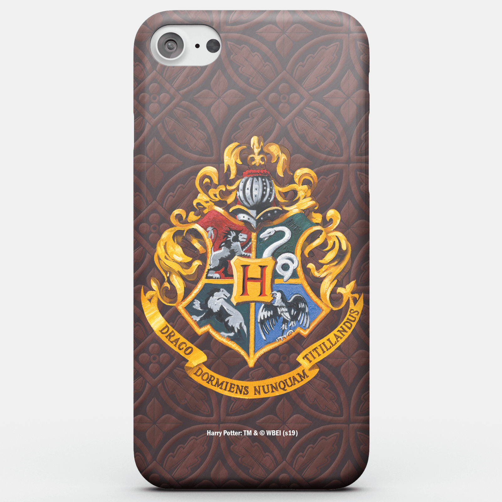 Harry Potter Phonecases Hogwarts Crest Phone Case for iPhone and Android - Samsung S7 - Carcasa rígida - Mate de Harry Potter