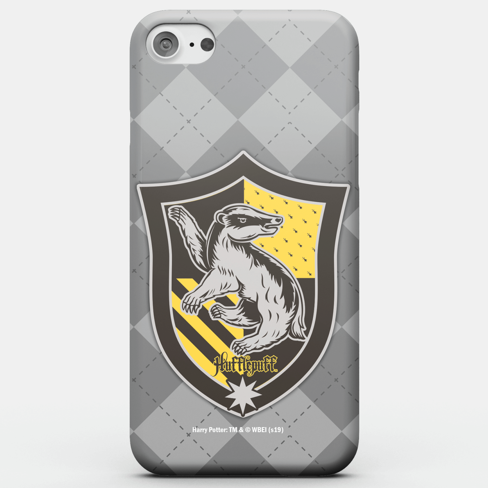 Harry Potter Phonecases Hufflepuff Crest Phone Case for iPhone and Android - iPhone 5C - Carcasa doble capa - Brillante de Harry Potter