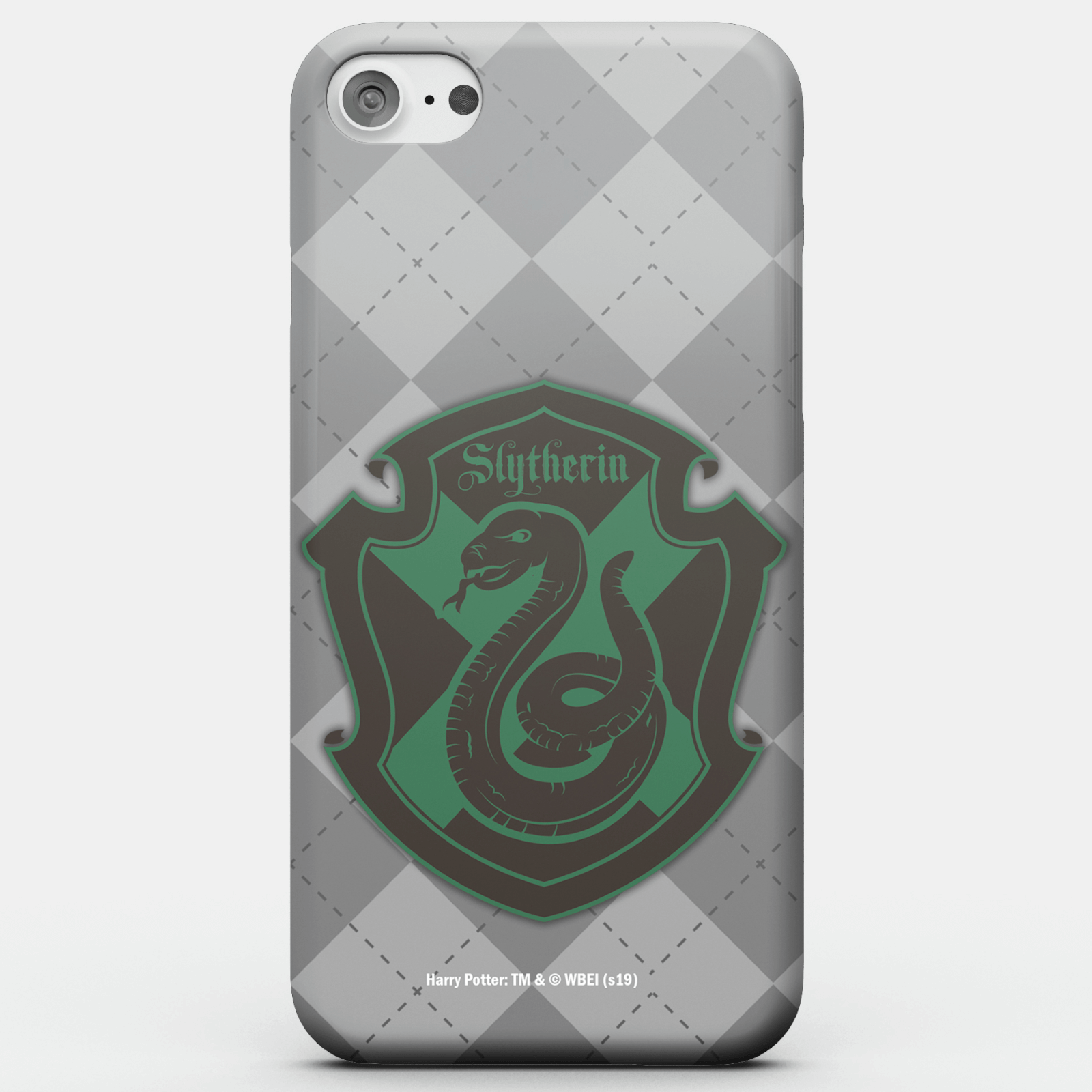 Funda Móvil Harry Potter Slytherin Crest para iPhone y Android - iPhone 6S - Carcasa rígida - Mate de Harry Potter